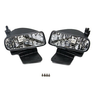 For Chevrolet Silverado 00 06 Auto Front Bumper Fog Driving Lights Housing New