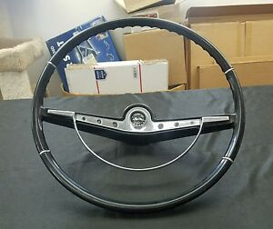 1963 63 Chevy Chevrolet Impala Steering Wheel Horn Button