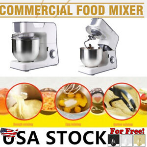 Professional Heavy Duty Stand Mixer 1000w Powerful W Beater Dough Hook Bowl