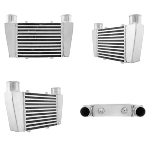 Cxracing Universal Front V mount Intercooler 15 25 x9 5 x3 2 5 Inlet Outlet