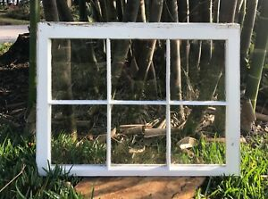Antique Shabby Chic Glass Panel Old Old Windows Wedding Ideas Home Decor