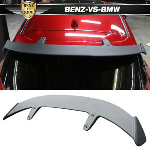 Fits 14 17 Mazda 3 5dr Hatchback Ae Style Rear Roof Spoiler Wing Deck Lid