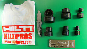Maxis 360 Hydraulic Punch knockout Set Only Brand New Fast Shipping