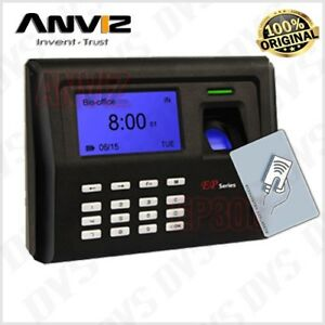 Anviz Ep300 Biometric Fingerprint Time Attendance Card Proximity New
