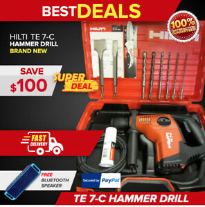 Hilti Te 7 c Rotary Hammer Drill Brand New Fast Shipping