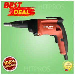 Hilti Sd 2500 Wood And Drywall Screwdriver Brand New Free Hat Fast Ship