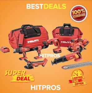Hilti Cordless Combos Brand New 18v Perfect Set Fast Shipping