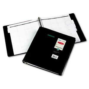 At a glance Five year Monthly Planner 9 X 11 Inches Black 2013 70 296 05