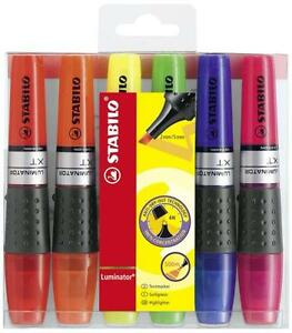 Stabilo Luminator Highlighter Marker Pen All Color Available Single Or All 6