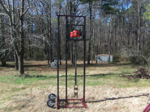 Water Well Drilling Rig Complete Drilling System W 23 Of Rods And Auger