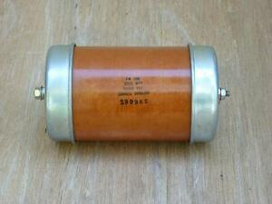 Cornell Dubilier High Voltage Capacitor 0005 Uf 50000vdc 50kv Volts 500pf