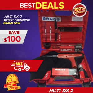 Hilti Dx 2 W Free Extras Brand New Strong Durable Shots Fast Shipping