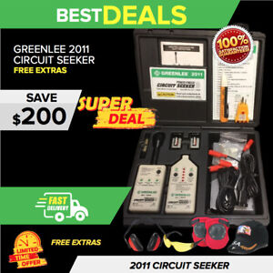 Greenlee 2011 00521 Power Finder Circuit Seeker Excellent Condition Fast Ship