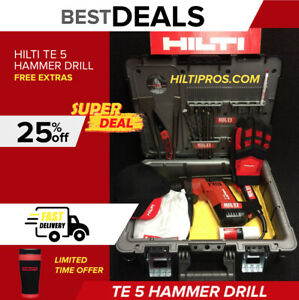 Hilti Te 5 Hammer Drill Preowned made In Germany Fast Ship