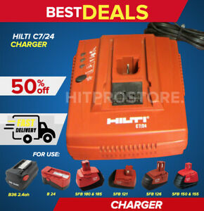 Hilti C 7 24 Standard Charger In Mint Condition Low Price Fast Shipping