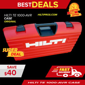 Hilti Case Fits Te 805 905 1000 Brand New Heavy Duty fast Shipping