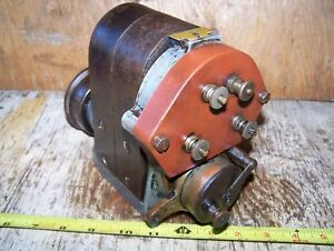 Old Bosch Du4 Antique Car Truck Tractor Magneto Gas Power Unit Steam Oiler Hot