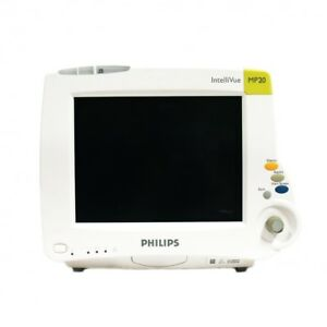 Philips Intellivue Mp20 M8001a Bedside Patient Monitor Sw G Refurbished Warranty