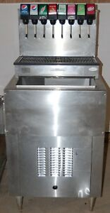 Cornelius Drop In Insert 8 Head Soda Fountain Cold Plate Carbonator Cb2323a
