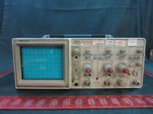 Tektronix 2213 Analo Oscilloscope 60mhz 2 Channel Dual trace Beam Scope handle