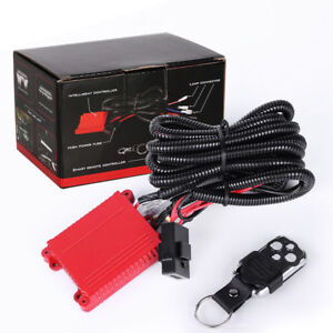 Remote Control Strobe Switch Freely Relay Drl Led Light Bar Wiring Harness New
