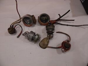Farmall 806 Farm Tractor Electrical Parts Lot