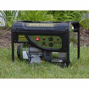 2000w Portable Generator Gasoline Two120v Outlets emergencies worksite camping