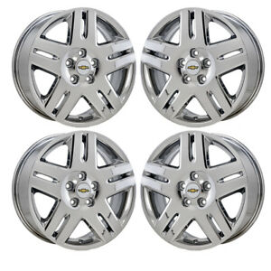 17 Chevrolet Impala Pvd Chrome Wheels Rims Factory Oem Set 4 5071 Exchange