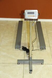 5 000 Lb Load Bar Pallet Skid Scale Weighing Beams Drum Scale W Led Display