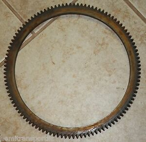 Case Ih Oem H410738 Flywheel Ring Gear Trencher Backhoe Loader Skid Steer Dozer