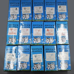 100 Pack Dental Rubber Bands Orthodontic Elastics Latex Force 3 5 5 0 6 5 Oz Opt