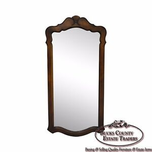 Ethan Allen French Country Style Beveled Wall Mirror