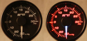 45mm Elec Boost Turbo Gauge Subaru Wrx Audi