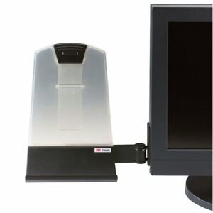 3m Monitor Mount Document Copy Holder Holds Documents At Eye Level Off The Clip