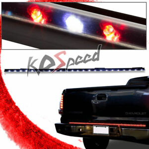 49 72 Led Bulb Red Turn Signal white Reverse Tail gate Light Tailgate Bar Strip