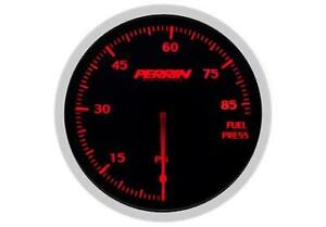 Perrin Performance 60mm 85 Psi Fuel Pressure Gauge Universal Wrx Sti Evo