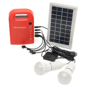 Portable Small Dc Solar Panels Charging Generator Power Generation System Charg