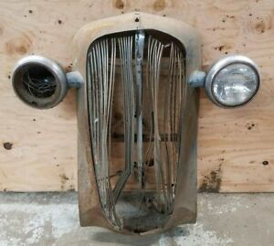 1936 36 Chevy Chevrolet Car Grill Headlight Buckets Shipping Included