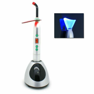 Dental Wireless 10w Led Curing whitening Light Lamp Orthodontics 2300mw cm2 Ys b