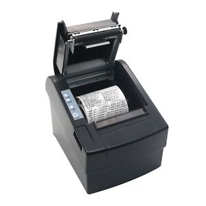 80mm Pos Dot Receipt Paper Barcode Thermal Printer Usb lan Bluetooth Pos 8220ln
