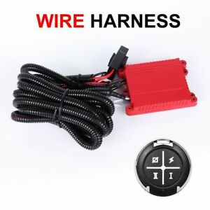 Dual Color Led Light Bar Remote Wiring Harness Switch Freely In Three Patterms