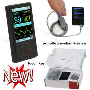 Contec Cms60f Touch Key Finger Pulse Oximeter Pc Software Alarm review clock