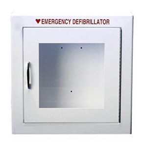 Modern Metal Large Non alarmed Basic Aed Cabinet 17 5in X 17 5in X 7in