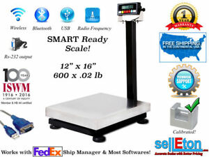 Selleton Smart Ready Bench Scale With Cap Of Rs 232 Port Fed Ex 600 X 02 Lb