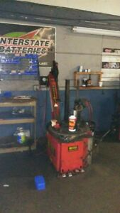 Used Corghi Tire Changer Good Working Condition Sold As Is