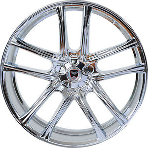 4 Gwg Wheels 17 Inch Chrome Zero Rims Fits Ford Taurus 2008 2018