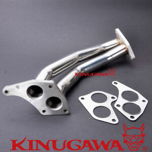 Turbo Exhaust Manifold Up Pipe Fit Subaru Twin Scroll Gdb Spec C Vf36 Vf37