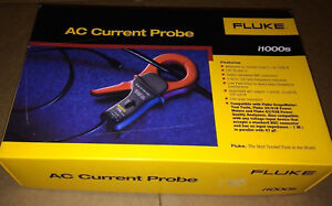 Fluke I1000s Ac Current Clamp new In Box Msrp 445