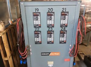 Hobart 450e3 12s6 24 Volt 12 Cell Amp Hours 381 450 charges 6 Batteries
