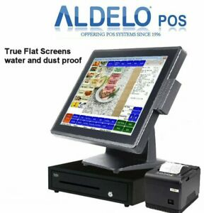 Aldelo Pro Quick Pizza Service Restaurant All in one Complete Pos System New